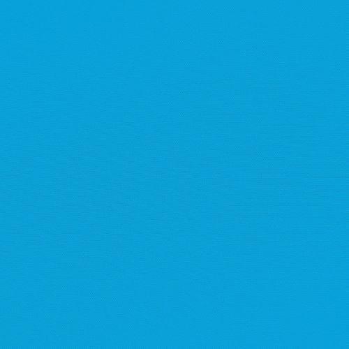 Gabardine de coton bleu turquoise