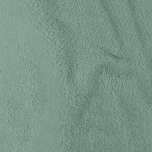 Tissu polaire microfibre vert d'eau