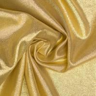 Tissu lurex pailleté doré