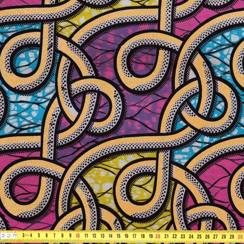 Wax tissu africain lien paillet pas cher tissus price - Tissu liberty pas cher ...