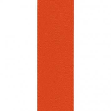 Ruban satin double face orange 39 mm