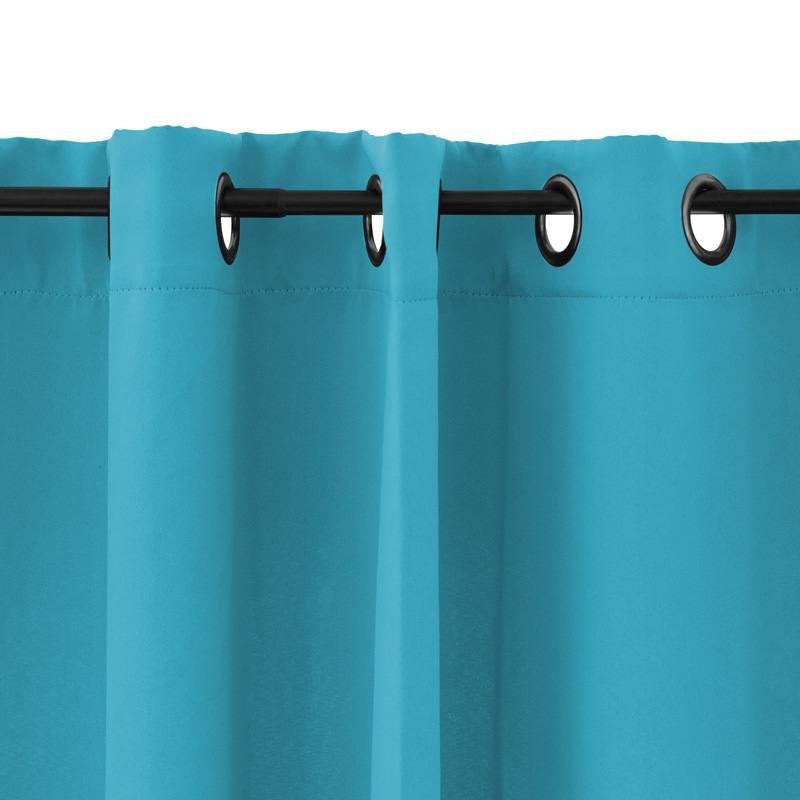 Rideau Bleu Turquoise : rideau turquoise zakelijksportnetwerkoost ~ Teatrodelosmanantiales.com Idées de Décoration