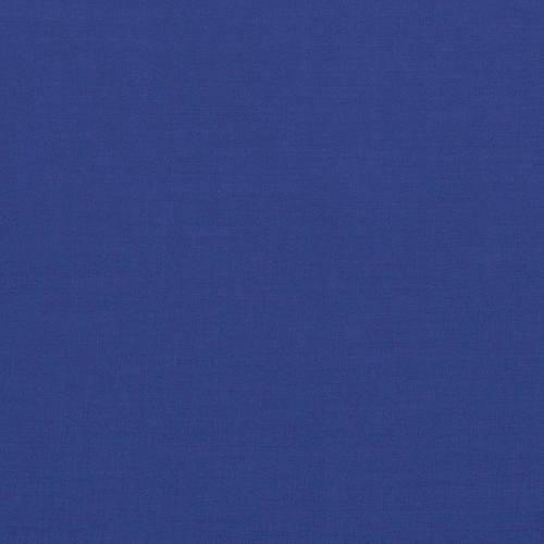 Voile de coton bleu roi