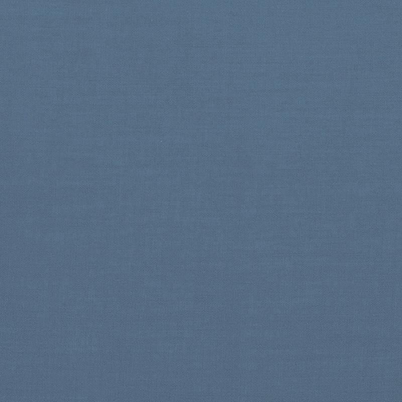 Voile de coton bleu