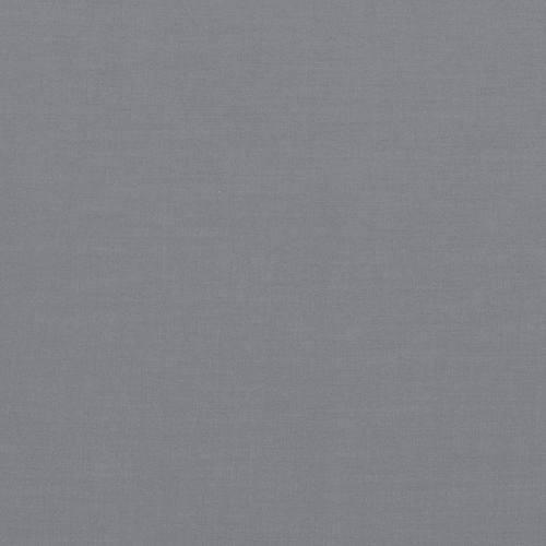 Voile de coton gris bleu