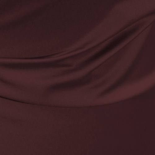 Satin microfibre royal aubergine