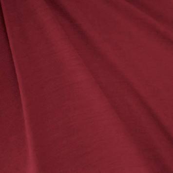 Jersey uni rouge carmin