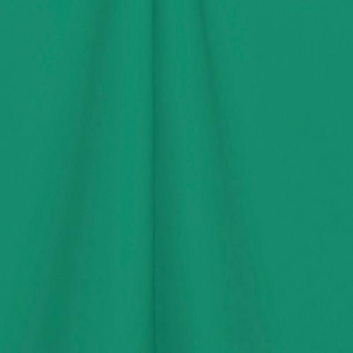 Toile polyester unie vert émeraude