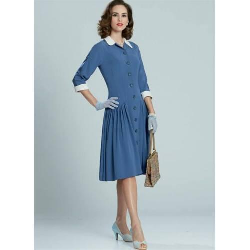 Patron McCall's M7625 : Robes pour jeune femme 42-50