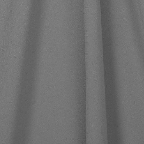 Tissu crêpe gris souris