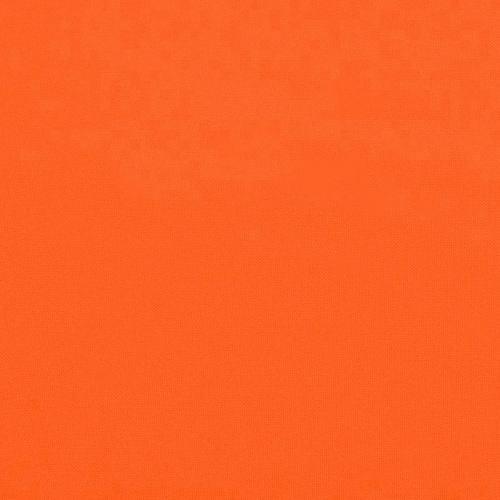 Burlington infroissable orange fluo