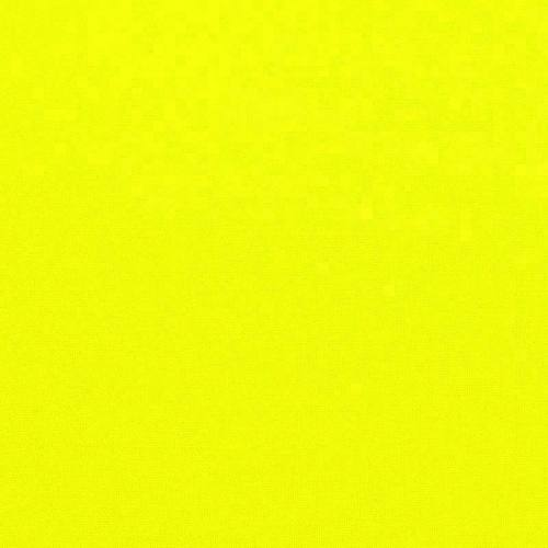 Burlington infroissable jaune fluo