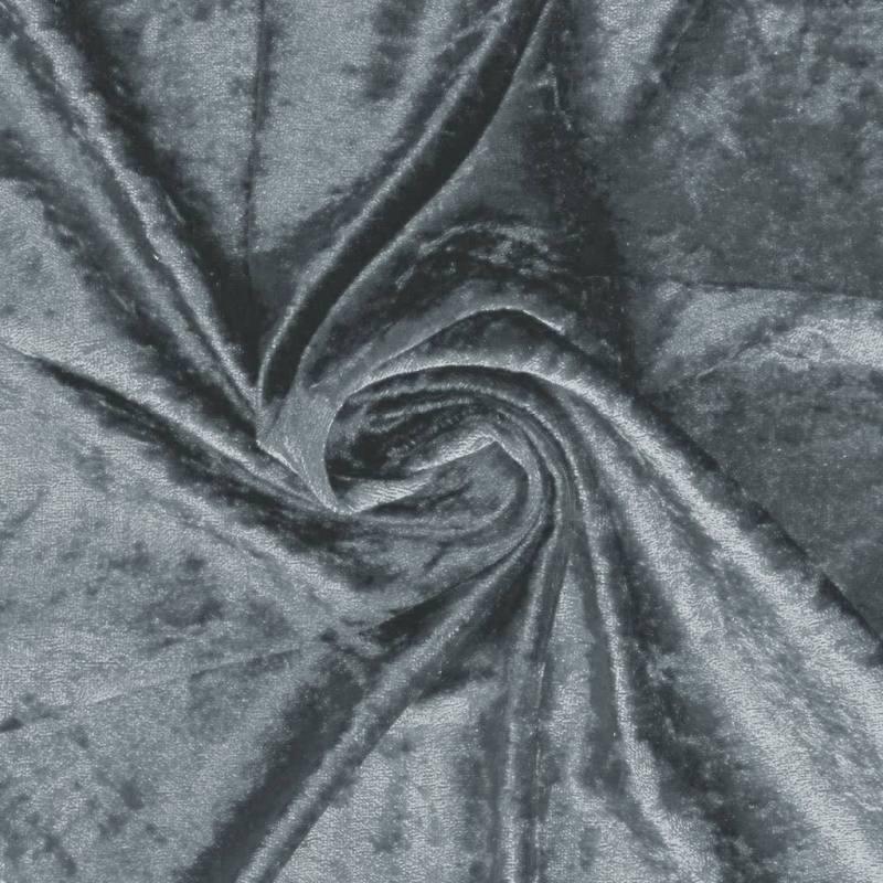 Panne de velours grise